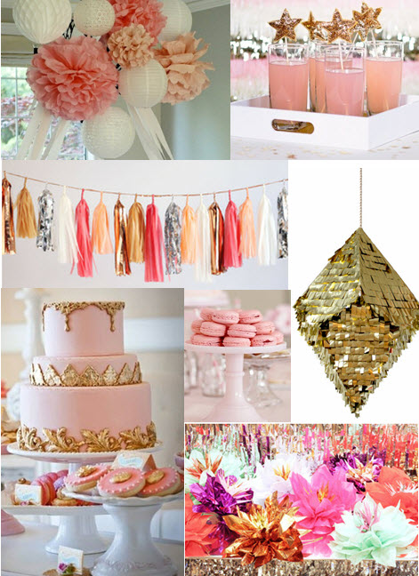 pink-and-gold-party